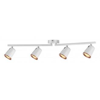 RABALUX 5048 | Solange Rabalux spot svjetiljka elementi koji se mogu okretati 1x LED 1520lm 3000K bijelo, zlatno