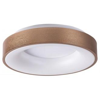 RABALUX 5053 | Carmella Rabalux stropne svjetiljke svjetiljka okrugli 1x LED 3400lm 4000K zlatno, bijelo