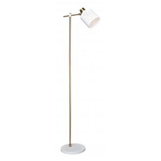 RABALUX 5091   Alberta Rabalux podna svjetiljka 156,8cm sa prekidačem na kablu elementi koji se mogu okretati 1x E27 zlatno, bijelo