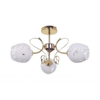 RABALUX 5098 | Fauna-RA Rabalux stropne svjetiljke svjetiljka 3x E27 zlatno, bijelo
