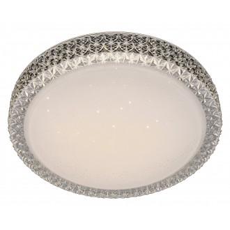 RABALUX 5326 | Lucilla Rabalux stropne svjetiljke svjetiljka okrugli 1x LED 1700lm 4000K bijelo, prozirno, kristal
