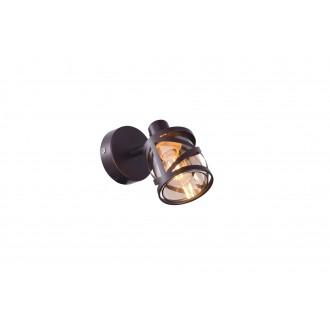RABALUX 5335 | Oberon-RA Rabalux spot svjetiljka elementi koji se mogu okretati 1x E14 kafena, jantar