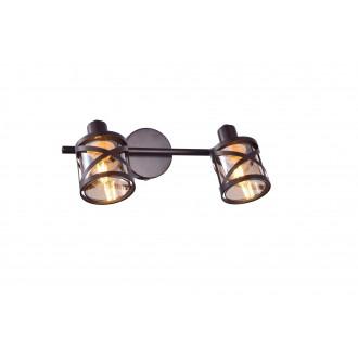 RABALUX 5336 | Oberon-RA Rabalux spot svjetiljka elementi koji se mogu okretati 2x E14 kafena, jantar