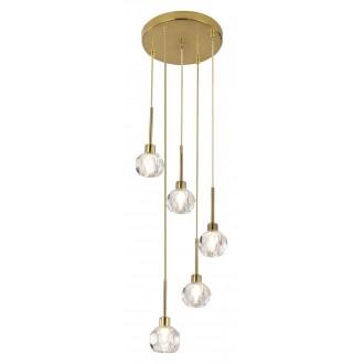 RABALUX 5396   Kassia-RA Rabalux visilice svjetiljka 5x G9 zlatno, kristal
