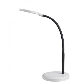 RABALUX 5429 | Timothy Rabalux stolna svjetiljka 58cm sa tiristorski dodirnim prekidačem fleksibilna, jačina svjetlosti se može podešavati 1x LED 440lm 4000K bijelo, crno