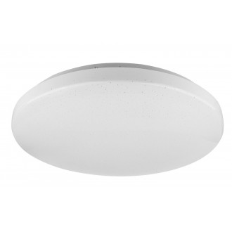 RABALUX 5435 | Rob-RA Rabalux stropne svjetiljke svjetiljka okrugli 1x LED 1400lm 4000K bijelo, svjetlucavi