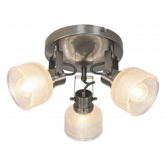 RABALUX 5439 | Francis-RA Rabalux spot svjetiljka elementi koji se mogu okretati 3x E14 krom saten, prozirno