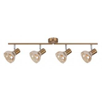 RABALUX 5550 | Holly-RA Rabalux spot svjetiljka elementi koji se mogu okretati 4x E14 antik zlato, jantar