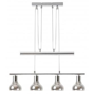 RABALUX 5560 | Holly-RA Rabalux visilice svjetiljka balansna - ravnotežna, sa visinskim podešavanjem 4x E14 krom, dim