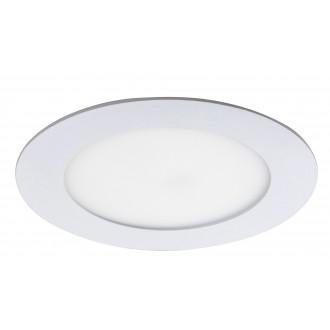RABALUX 5569 | Lois Rabalux ugradbene svjetiljke LED panel okrugli Ø120mm 120x120mm 1x LED 350lm 4000K bijelo mat, bijelo