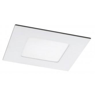 RABALUX 5576 | Lois Rabalux ugradbene svjetiljke LED panel četvrtast 90x90mm 1x LED 170lm 4000K bijelo mat, bijelo