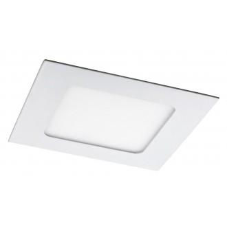 RABALUX 5577 | Lois Rabalux ugradbene svjetiljke LED panel četvrtast 120x120mm 1x LED 350lm 4000K bijelo mat, bijelo