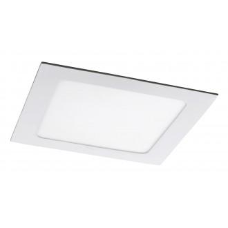 RABALUX 5578 | Lois Rabalux ugradbene svjetiljke LED panel četvrtast 170x170mm 1x LED 800lm 4000K bijelo mat, bijelo