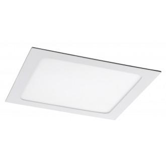 RABALUX 5579 | Lois Rabalux ugradbene svjetiljke LED panel četvrtast 220x220mm 1x LED 1400lm 4000K bijelo mat, bijelo