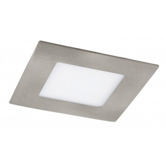 RABALUX 5580   Lois Rabalux ugradbene svjetiljke LED panel četvrtast 90x90mm 1x LED 170lm 3000K krom saten, bijelo