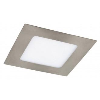 RABALUX 5581   Lois Rabalux ugradbene svjetiljke LED panel četvrtast 120x120mm 1x LED 350lm 3000K krom saten, bijelo