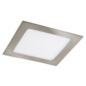 RABALUX 5582   Lois Rabalux ugradbene svjetiljke LED panel četvrtast 170x170mm 1x LED 800lm 3000K krom saten, bijelo
