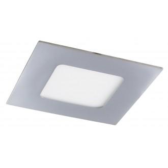 RABALUX 5590 | Lois Rabalux ugradbene svjetiljke LED panel četvrtast 90x90mm 1x LED 170lm 3000K IP44 krom, bijelo