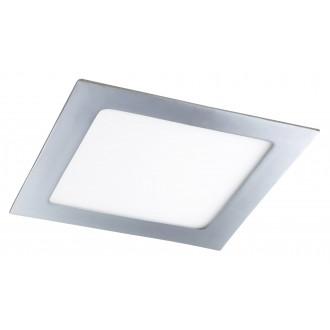 RABALUX 5591 | Lois Rabalux ugradbene svjetiljke LED panel četvrtast 170x170mm 1x LED 800lm 3000K IP44 krom, bijelo