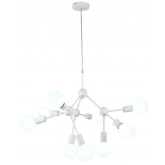 RABALUX 5599 | Malik Rabalux visilice svjetiljka 9x E27 bijelo