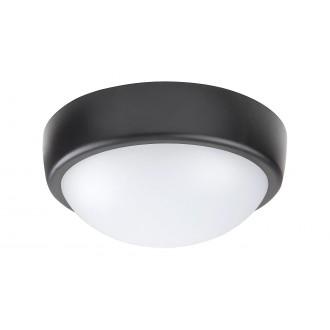 RABALUX 5621 | Boris-RA Rabalux zidna, stropne svjetiljke svjetiljka 1x LED 800lm 4000K IP54 bijelo, crno