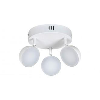 RABALUX 5624 | Hedwig Rabalux spot svjetiljka daljinski upravljač jačina svjetlosti se može podešavati, sa podešavanjem temperature boje, elementi koji se mogu okretati 3x LED 1050lm 2700 <-> 5000K bijelo mat