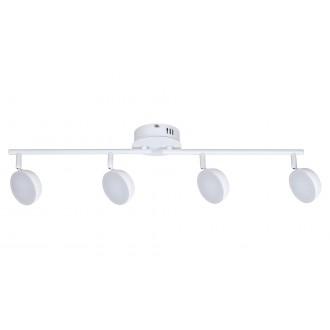 RABALUX 5625 | Hedwig Rabalux spot svjetiljka daljinski upravljač jačina svjetlosti se može podešavati, sa podešavanjem temperature boje, elementi koji se mogu okretati 4x LED 1400lm 2700 <-> 5000K bijelo mat