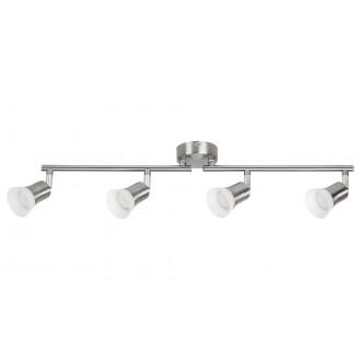 RABALUX 5630 | Riley-RA Rabalux spot svjetiljka elementi koji se mogu okretati 4x LED 1400lm 3000K krom saten, opal