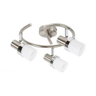 RABALUX 5633 | Finian Rabalux spot svjetiljka elementi koji se mogu okretati 3x E14 krom saten, krom, opal
