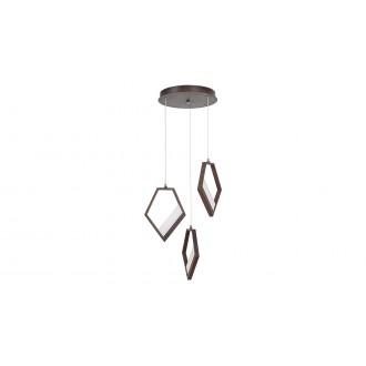 RABALUX 5643 | Silvana Rabalux visilice svjetiljka 1x LED 3600lm 3000K metalik smeđe