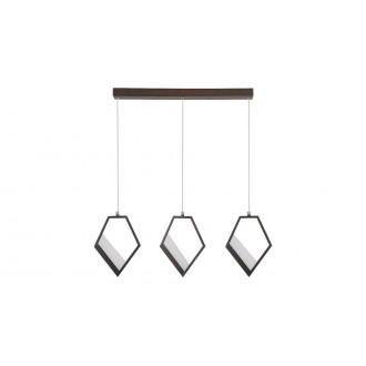 RABALUX 5644 | Silvana Rabalux visilice svjetiljka 1x LED 3600lm 3000K metalik smeđe