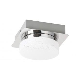 RABALUX 5661 | Hilary Rabalux zidna, stropne svjetiljke svjetiljka 1x LED 400lm 4000K krom, opal, učinak kristala