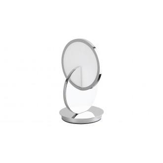 RABALUX 5669 | Assana Rabalux stolna svjetiljka 28cm sa prekidačem na kablu 1x LED 380lm 3000K krom, opal