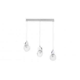 RABALUX 5670 | Assana Rabalux visilice svjetiljka 1x LED 1400lm 3000K krom, opal