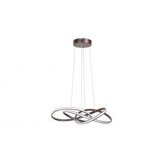 RABALUX 5692 | Ambrosio Rabalux visilice svjetiljka 1x LED 2700lm 3000K smeđe