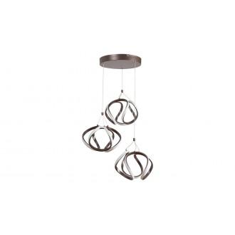 RABALUX 5693 | Ambrosio Rabalux visilice svjetiljka 1x LED 3400lm 3000K smeđe