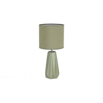 RABALUX 5703 | Amiel Rabalux stolna svjetiljka 43cm s prekidačem 1x E27 zeleno, krom