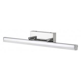 RABALUX 5719 | SilasR Rabalux ovetljenje ogledala svjetiljka elementi koji se mogu okretati 1x LED 1180lm 4000K IP44 krom, bijelo