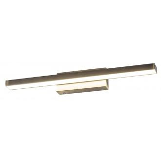 RABALUX 5721 | JohnR Rabalux ovetljenje ogledala svjetiljka 1x LED 1080lm 4000K IP44 bronca, bijelo
