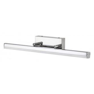 RABALUX 5727 | SilasR Rabalux ovetljenje ogledala svjetiljka elementi koji se mogu okretati 1x LED 1700lm 4000K IP44 krom, bijelo