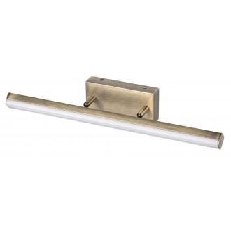 RABALUX 5729 | SilasR Rabalux zidna svjetiljka elementi koji se mogu okretati 1x LED 1700lm 4000K IP44 bronca, bijelo