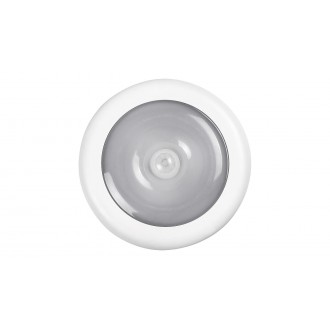 RABALUX 5730 | Milo-RA Rabalux osvjetljenje namještaja svjetiljka sa senzorom baterijska/akumulatorska 1x LED 30lm 4000K bijelo, prozirno