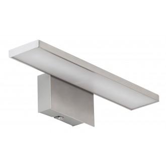 RABALUX 5736 | LouiseR Rabalux ovetljenje ogledala svjetiljka 1x LED 360lm 3000K kromni mat, bijelo
