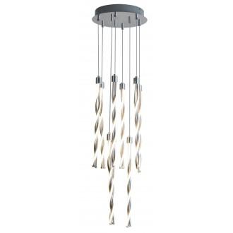 RABALUX 5766 | Raina Rabalux visilice svjetiljka 1x LED 3175lm 3000K krom, bijelo