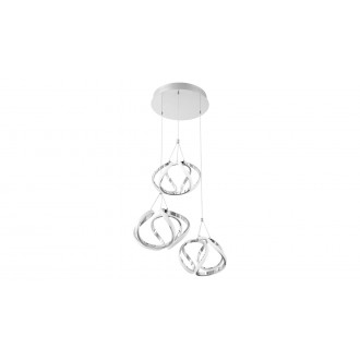 RABALUX 5771 | Palmira Rabalux visilice svjetiljka 1x LED 3400lm 3000K krom