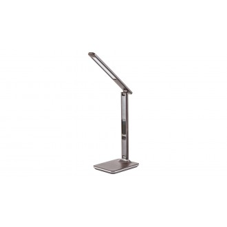 RABALUX 5773 | Elias-RA Rabalux stolna svjetiljka 38,5cm sa tiristorski dodirnim prekidačem jačina svjetlosti se može podešavati, sa podešavanjem temperature boje, elementi koji se mogu okretati 1x LED 400lm 2700 <-> 5500K smeđe