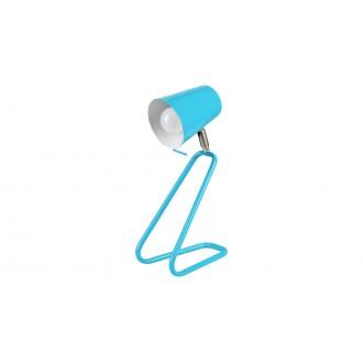 RABALUX 5778 | Olaf-RA Rabalux stolna svjetiljka 33cm sa prekidačem na kablu elementi koji se mogu okretati 1x E14 plavo