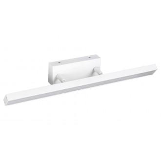 RABALUX 5782 | Andrew Rabalux zidna svjetiljka elementi koji se mogu okretati 1x LED 820lm 3000K IP44 bijelo mat