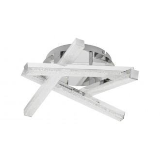 RABALUX 5789 | Chelsea-RA Rabalux stropne svjetiljke svjetiljka 1x LED 1280lm 3000K krom, kristal