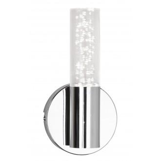 RABALUX 5797 | Aphrodite Rabalux zidna svjetiljka 1x LED 380lm 3000K krom, prozirno